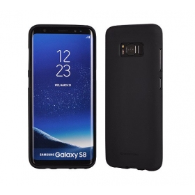 "LG V500 V50 ThinQ dėklas Mercury Goospery ""Soft Jelly Case"" (juodas)"