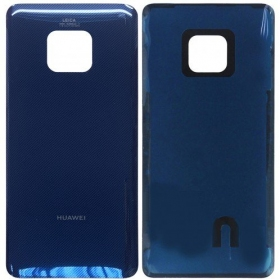 Huawei Mate 20 Pro galinis dangtelis mėlynas (Midnight Blue) (originalus)